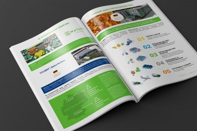 Дизайн и верстка брошюры или каталогаЛистовки и брошюры<br>Дизайн и верстка одной страницы каталога или брошюры + исходник верстки. Смотрите дополнительные опции.<br>