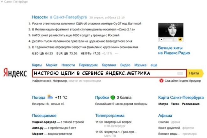 Настрою цели в сервисе Яндекс.Метрика 1 - kwork.ru