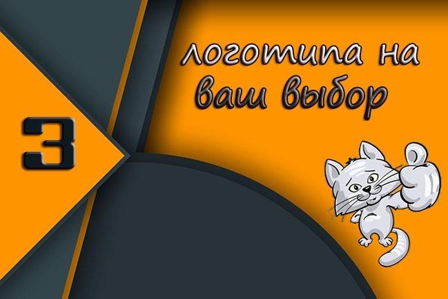 3 варианта логотипа, для всего 1 - kwork.ru