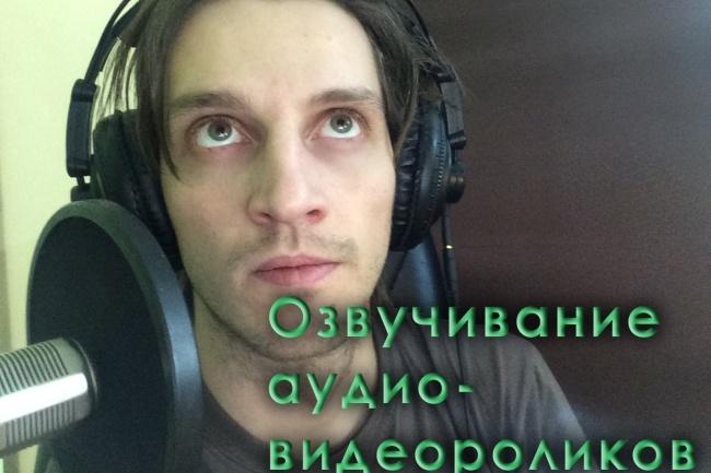Любая озвучка 1 - kwork.ru