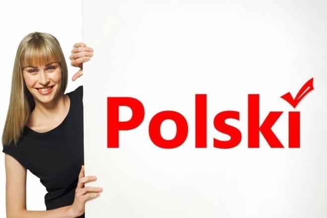 Выполню перевод с польского языка на русский 1 - kwork.ru