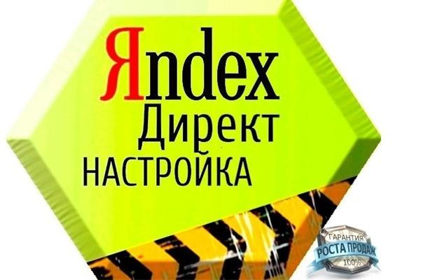 Настрою и займусь ведением Вашей рекламы на Яндекс. Директ. РСЯ 1 - kwork.ru