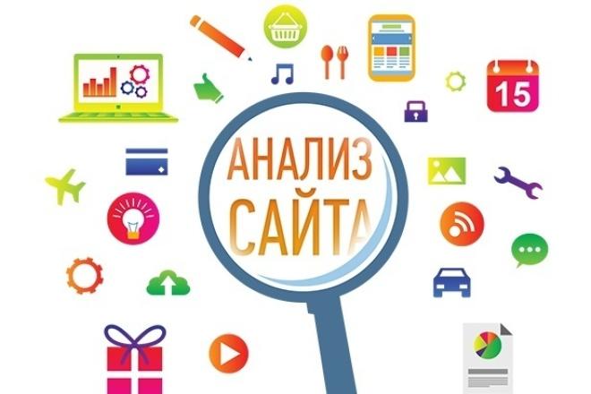 Проведу аудит Вашего сайта 1 - kwork.ru