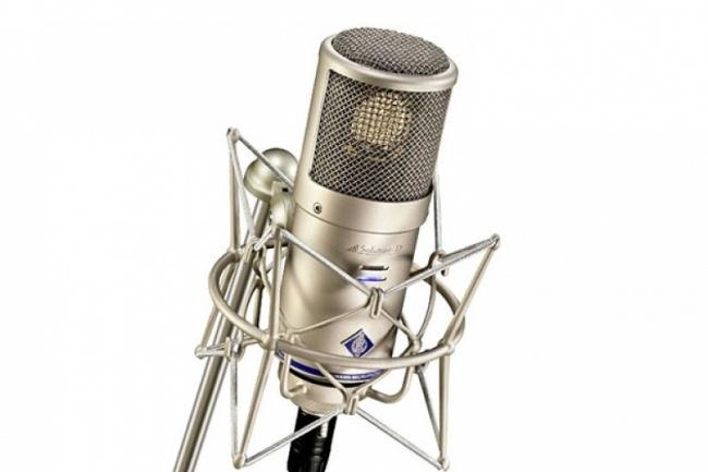 Профессиональный Диктор. Потрясающий Голос 1 - kwork.ru