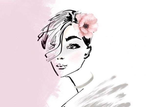 Fashion иллюстрация 1 - kwork.ru
