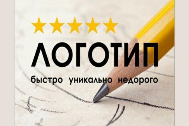Сделаю логотип по заказу 1 - kwork.ru