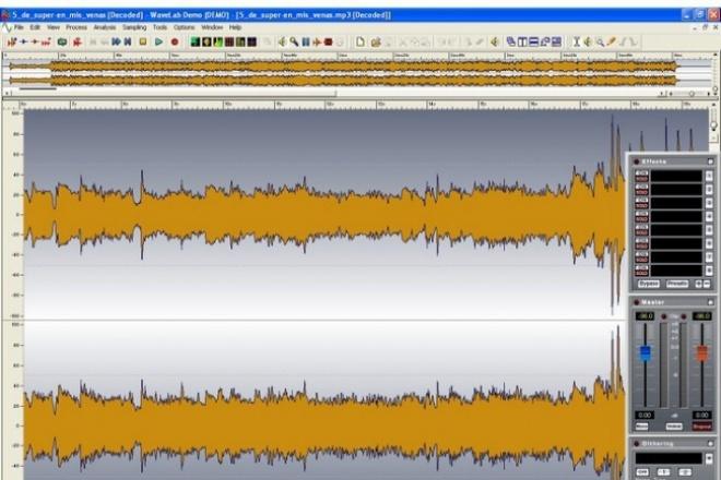 Сведу Вашу композициюРедактирование аудио<br>Сделаю сведение и мастеринг Вашей композиции на профессиональном оборудовании. Конечный вариант предоставляется в удобном для Вас формате. По запросу могу предоставить образцы. Опыт работы со звуком - 4 года. Если Вы не удовлетворены - Вы не платите.<br>