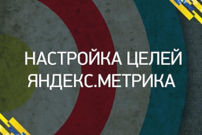 Настрою цели в Метрике! Узнаете источники ваших продаж 1 - kwork.ru