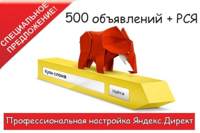 Настройка рекламной кампании в Яндекс Директ 1 - kwork.ru