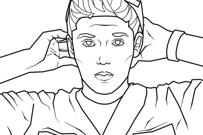 нарисую портрет в стиле GTA 1 - kwork.ru