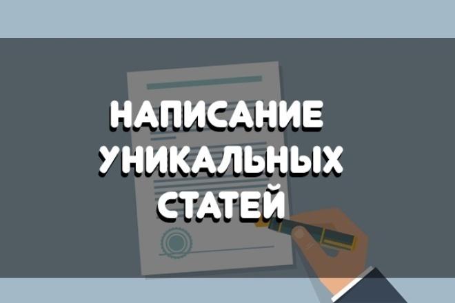 Напишу уникальный текст по определённым тематикам 1 - kwork.ru