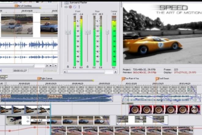 Монтаж видеоМонтаж и обработка видео<br>Если видео очень короткие, где-то 5-20 минут то 2 видео ,если видео от 20-45 минут то 1 видео.Подробности пишите.<br>