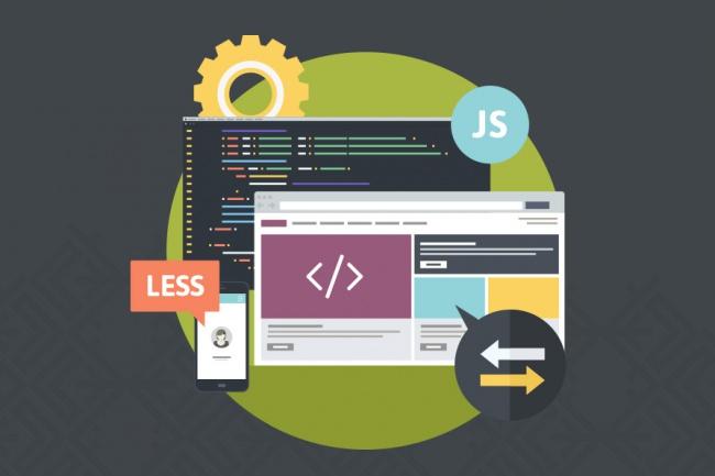 Сверстаю макет html5, css3, jsВерстка<br>Услуги: - верстка сайтов с использование html5 и css3; - разработка с применением Twitter Bootstrap; - использование jQuery; - landing Pages; - сайт визитка; - адаптация под разные устройства; - сайты с css анимацией; - валидная верстка. Используемые технологии: - html5; - css3; - javascript; - jquery; - bootstrap; - less; - sass; - gulp. Объем услуги при заказе одного кворка: Вёрстка одной адаптивной страницы с PSD макета<br>