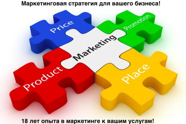 Консультирую по вопросам маркетинговой стратегии для вашего бизнесаОбучение и консалтинг<br>У вас есть идея бизнеса, но нет опыта для раскладывания все по полочкам маркетинга? Ваш бизнес находится в конкурентной среде и вам надо выделяться, чтобы развиваться? Как сформулировать портрет целевой аудитории, как сформулировать ценность для нее, какие эмоциональные и рациональные атрибуты должны быть зашиты в продукт вашего бизнеса, чтобы целевая аудитория понимала преимущества и выбирала именно вас среди конкурентного окружения? Какие каналы продвижения выбрать на старте, какие - для генерации трафика, какие - для построения имижда и правильного восприятия вашего бизнеса? Что сказать? Определение основного сообщения коммуникации для целевых аудиторий. Как сказать? Форма (креатив) основного сообщения. Где сказать? Медиа планирование по каналам коммуникации с целевыми аудиториями. На эти вопросы я отвечаю для российских и транснациональных брендов и компаний уже 18 лет. Зачем я разместил этот кворк? Потому что хочу делиться накопленным опытом и экономить вам время, самый ценный ресурс в вашем бизнесе. То, что для меня очевидно и легко сформулировать, для вас - это задача, которую вы сможете решать, потратив годы на отработку своей практики. Помогаю, потому что нравится помогать.<br>
