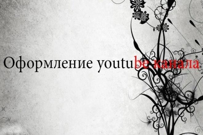 Оформлю ваш youtube канал 1 - kwork.ru