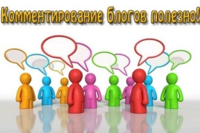 30 уникальных комментариев для вашего сайта 1 - kwork.ru