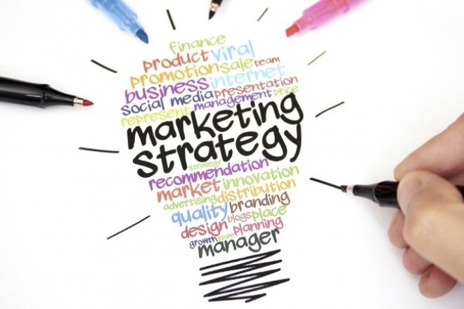 Маркетинговая стратегия 1 - kwork.ru