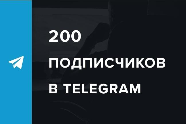 Раскрутка и продвижение в Telegram, 200 подписчиковПродвижение в социальных сетях<br>В данном кворке пойдёт речь о раскрутке пользователей и подписчиков для Telegram от Павла Дурова. Итак, Telegram — это бесплатный кроссплатформенный мессенджер для смартфонов и других устройств, позволяющий обмениваться текстовыми сообщениями и медиафайлами различных форматов. У Вас есть аккаунт в Telegram, но Вы не ещё не сильно там популярны? Я помогу немного исправить это положение. Весь процесс продвижения (раскрутки) в Telegram делается аккаунтами с аватарками и нормальными именами. Процент отписок не превышает 5%. Данная услуга подходит только для каналов (channel). Для ботов и чатов она не подходит. Все мои услуги: http://kwork.ru/user/brezgunov_kv<br>
