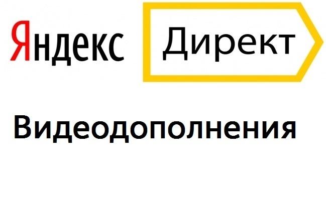 Видеодополнения в Директ 1 - kwork.ru