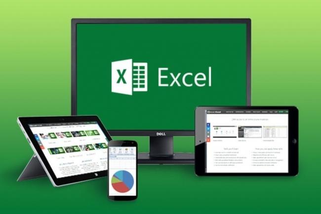 Заполню Excel информацией, товарами 1 - kwork.ru