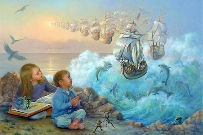 Напишу сказку для детей или взрослыхСтихи, рассказы, сказки<br>Вам нужна сказка с проработанным сюжетом или адаптированная под конкретного персонажа? Пишите, и мы с вами обо всем договоримся.<br>