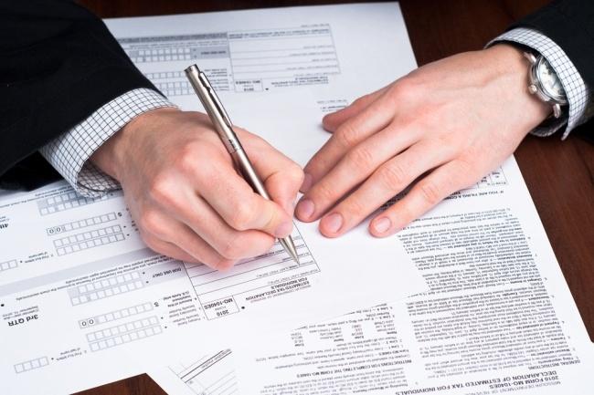 Заполняю налоговую декларацию 3-ндфл 1 - kwork.ru