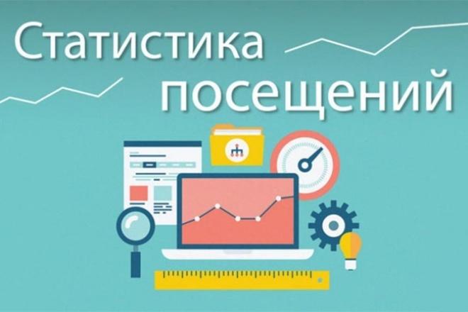 Статистика на сайте 1 - kwork.ru