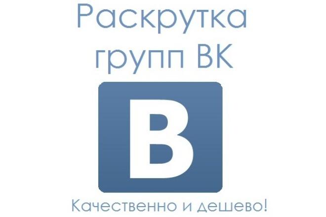 1000 новых и активных подписчиков в группу Вконтакте 1 - kwork.ru