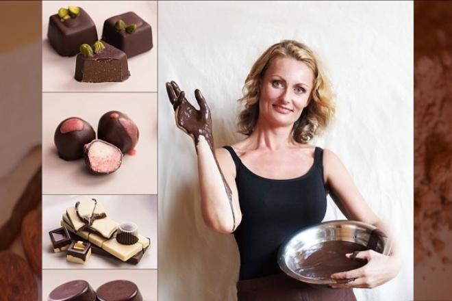 Мастер-класс по приготовлению живого шоколада 1 - kwork.ru