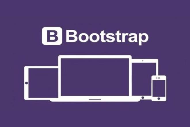 сделаю макет Bootstrap по psd макету 1 - kwork.ru