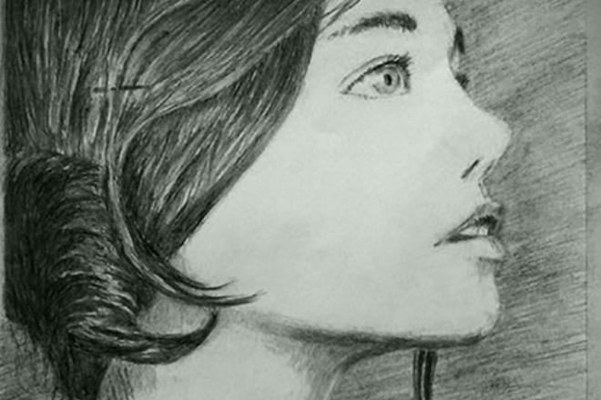Создам портрет карандашомИллюстрации и рисунки<br>Нарисую для вас портрет карандашом и предоставлю его в лучшем качестве для изображения на плакатах, футболках, либо для аватарки в соц сетях<br>