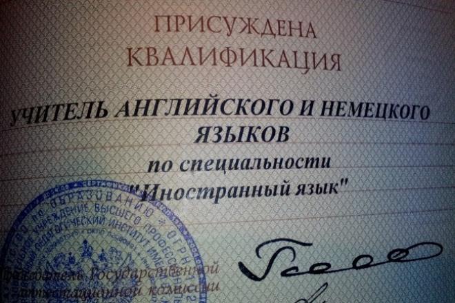 Сделаю качественный перевод текста с Английского на Русский и наоборот 1 - kwork.ru
