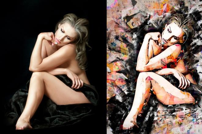 Сделаю из фото качественный арт-портрет 1 - kwork.ru