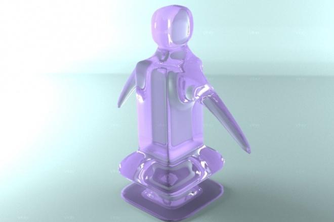 Создам 3д модель 1 - kwork.ru