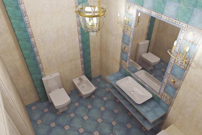 Разработаю дизайн Вашего помещения из керамической плиткиМебель и дизайн интерьера<br>Эта услуга для тех, кто хочет перед покупкой плитки определиться с ее расположением, чтобы Ваше помещение приобрело свою индивидуальность и неповторимость. Тогда услуга по раскладке керамической плитки обязательно заинтересует Вас! Помогу сделать ванные комнаты, туалеты и другие помещения вашей квартиры, дома красивыми и оригинальными!<br>