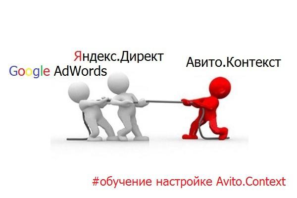 Обучу работе с Avito context (контекстная реклама на авито) 1 - kwork.ru