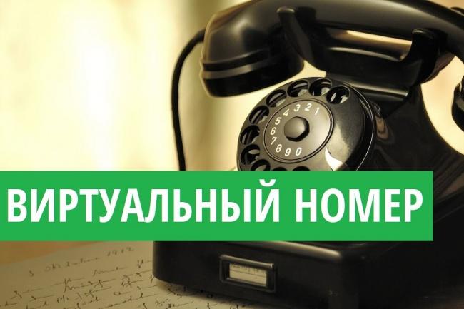 Мобильный виртуальный номер для приема sms