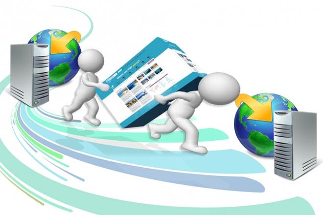 Перенесу ваш сайт на другой хостинг, сервер или доменДомены и хостинги<br>Перенесу ваш сайт на другой хостинг, сервер или домен. Выполню работу качественно. Проконсультирую и отвечу на все возникшие вопросы.<br>