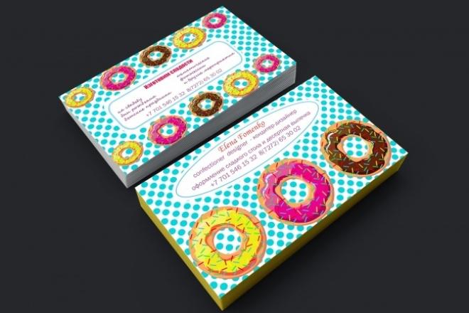 Разработаю макет визиткиВизитки<br>Разработка дизайн-макета двухсторонних визитных карточек с соблюдением требований допечатной подготовки. При необходимости макеты для печати могу сохранить в Adobe Illustrator или TIFF. За 500 руб Вы получаете: - cdr и jpg файлы с макетом (выполненный по всем требованиям, готовый для печати) +визуализация<br>