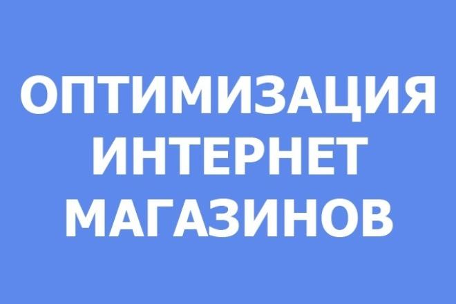 Оптимизация интернет-магазинов 1 - kwork.ru
