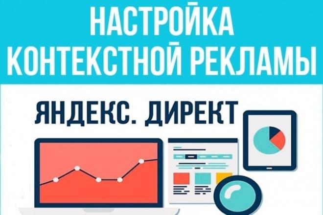 Создание рекламной кампании Яндекс Директ на Поиск и РСЯ 1 - kwork.ru