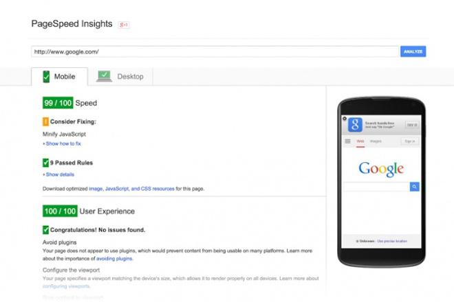 Оптимизирую Ваш сайт для Google PageSpeed Insights (повышу показатели) 1 - kwork.ru