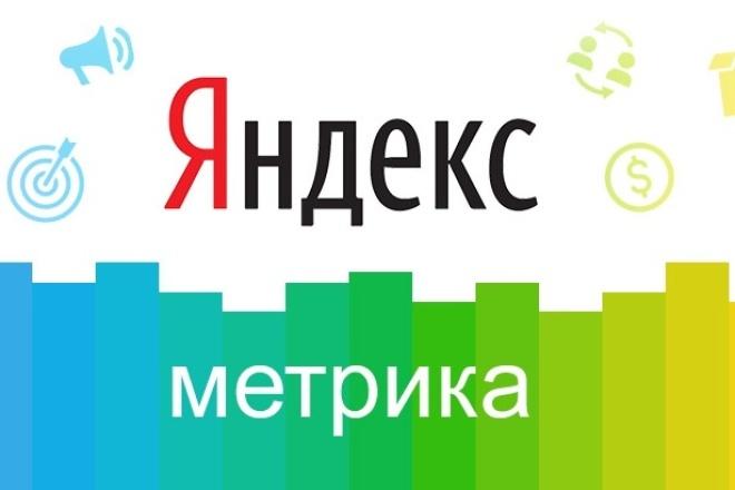 Установка Яндекс.Метрики и Google AnalyticsСтатистика и аналитика<br>Добавлю на Ваш сайт Яндекс.Метрику и Google Analytics. Также возможна установка любых других счетчиков.<br>