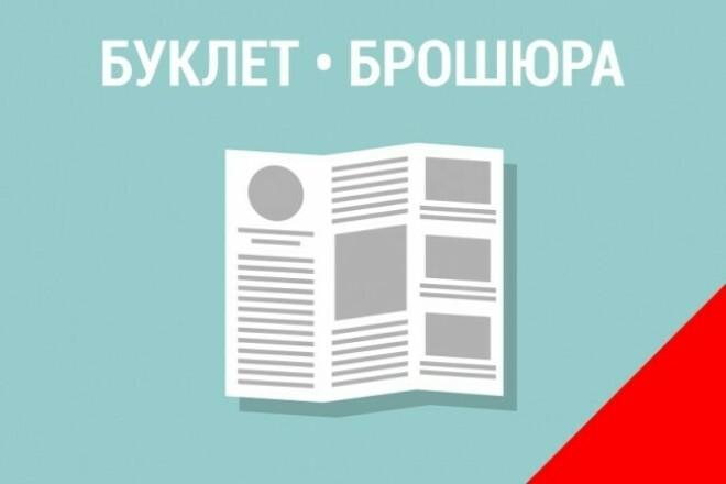 Буклеты, свежие буклеты 1 - kwork.ru