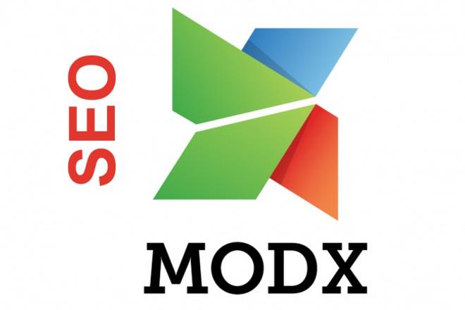 Настройка для SEO. MODx  EVO 1 - kwork.ru