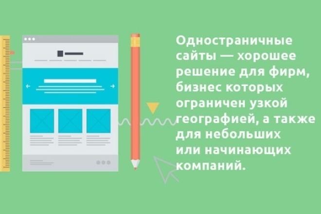 Одностраничный сайт Landing Page для сайтов на WordPress от 1 экрана 1 - kwork.ru