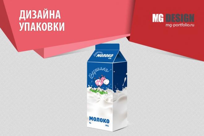 Разработаю дизайн упаковки 1 - kwork.ru