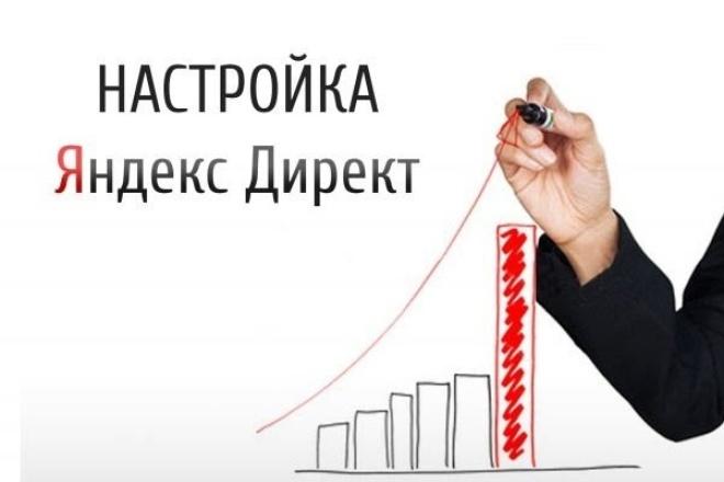 Настрою Яндекс Директ 500 ключевиков 1 - kwork.ru
