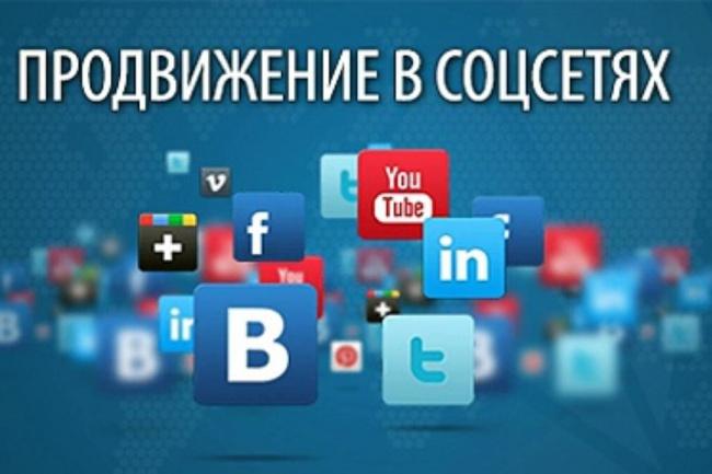 активность в соц сети +500 1 - kwork.ru