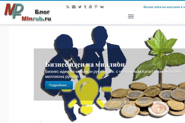 Размещу готовую статью о вашей франшизе или стартапе 1 - kwork.ru